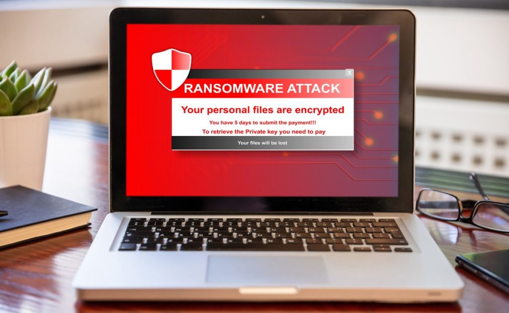 Ransomware will hold your files until you pay the ransom. This type of malware is easy to spot.